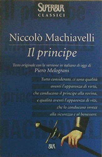 9788817150156: Il Principe (Superbur) (Italian Edition)