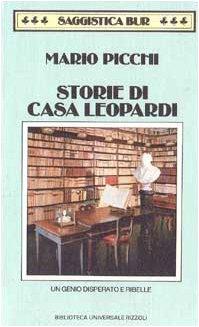 9788817167789: STORIE DI CASA LEOPARDI