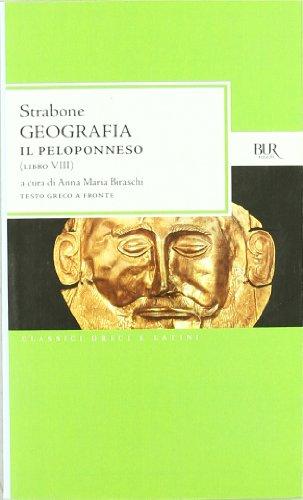 Geografia. Il Peloponneso. Libro 8º - Strabone