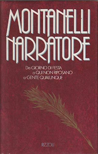 Montanelli narratore.: Montanelli,Indro.