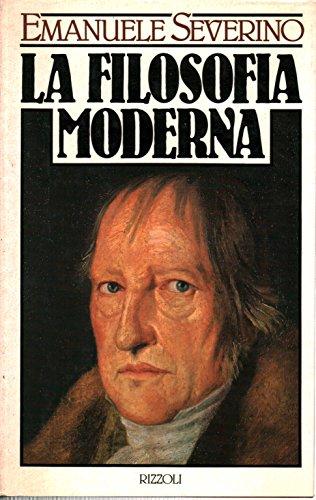 9788817537667: La filosofia moderna (Italian Edition)