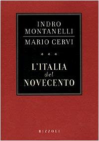 9788817860147: L'Italia del Novecento (Collana storica Rizzoli) (Italian Edition)