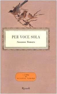 9788817866163: Per Voce Sola (Italian Edition)