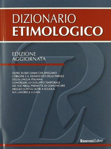 9788818027747: Dizionario etimologico