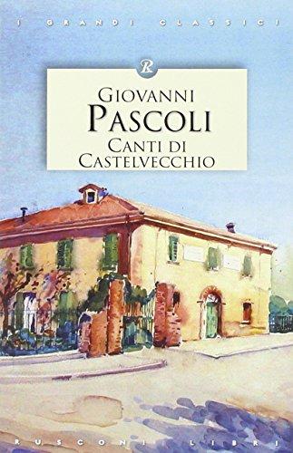 9788818030303: Canti di Castelvecchio