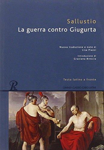 9788818030396: La guerra contro Giugurta. Testo latino a fronte