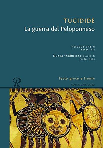 9788818030921: La guerra del Peloponneso (Classici greci e latini)