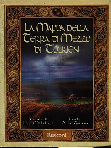 9788818121643: La mappa della Terra di Mezzo di Tolkien