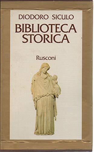 9788818160017: Biblioteca storica. Libri XIV-XVII (Classici di storia)