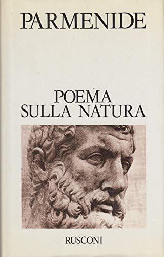 9788818220179: Poema sulla natura: I frammenti e le testimonianze indirette (I Classici del pensiero) (Italian Edition)