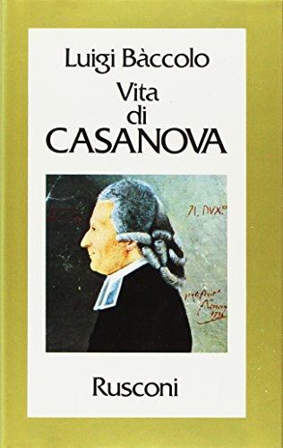 9788818234688: Vita di Casanova