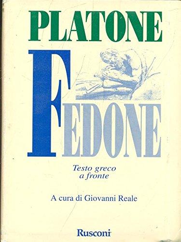 9788818701524: Il Fedone (Testi a fronte)