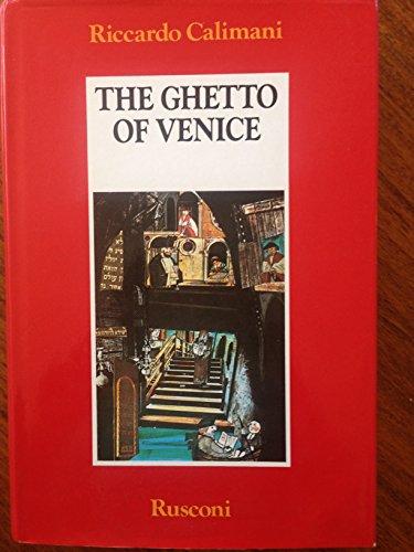 9788818880038: The Ghetto of Venice