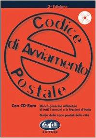 9788819108100: Codice di avviamento postale. Con CD-ROM (Società e commercio. Azienda)