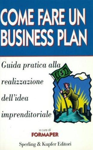 9788820024260: Come fare un business plan (Target)