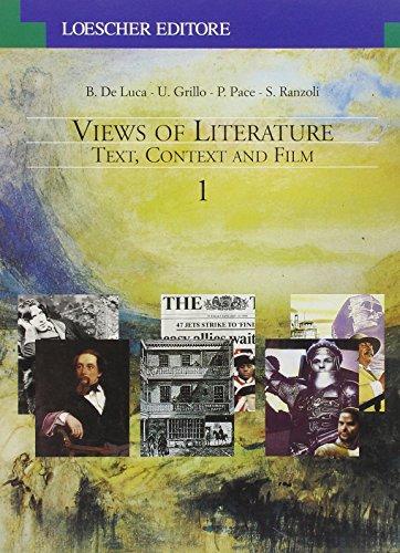 9788820101947: Views of literature. Text, context and film. Per le Scuole superiori: 1
