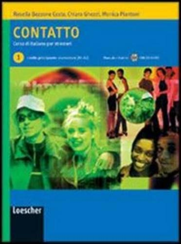 9788820126575: Contatto. Corso di italiano per stranieri. Manuale per lo studente. Per le Scuole. Livello A1-A2. Con CD Audio