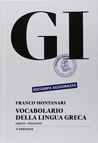 9788820133641: GI. Vocabolario della lingua greca. Con la guida all'uso del vocabolario e lessico di base. Con CD-ROM. Con aggiornamento online