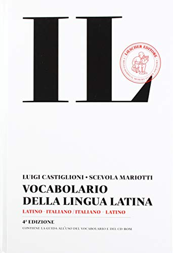 9788820166663: Il vocabolario della lingua latina. Latino-italiano, italiano-latino. Con CD-ROM