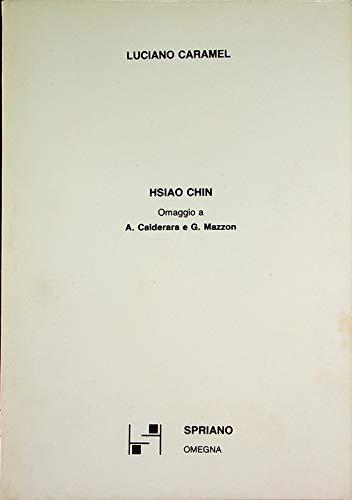 Hsiao Chin. Catalogo della mostra (Milano, 1988)