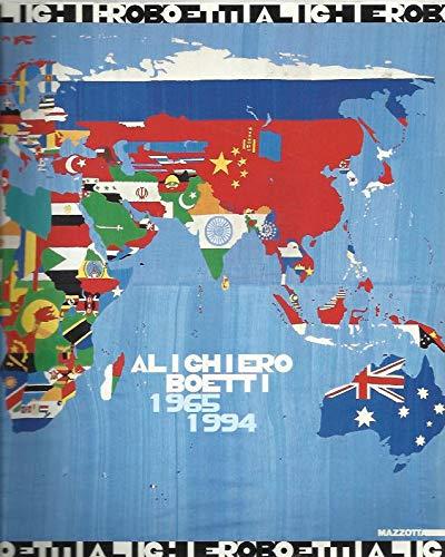 9788820211745: Alighiero Boetti: 1965-1994 (Italian Edition)