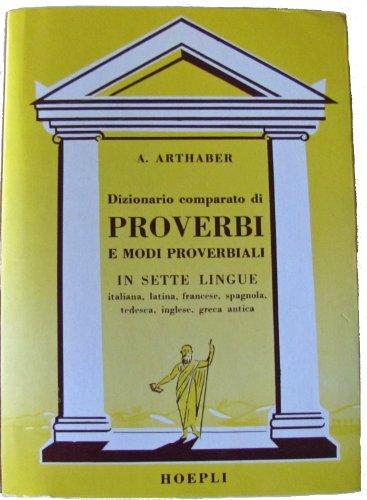 Dizionario comparato di proverbi e modi proverbiali