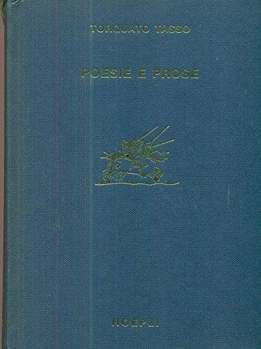 Poesie e prose.: Tasso,Torquato.