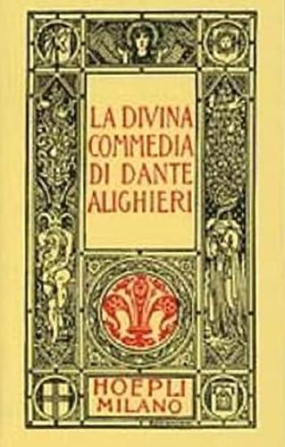 9788820310028: Dante minuscolo hoepliano. La Divina Commedia