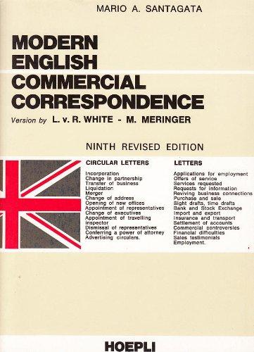 Modern English Commercial Correspondence - Ninth Revised: L. v. R.