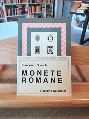 9788820321505: Monete romane.