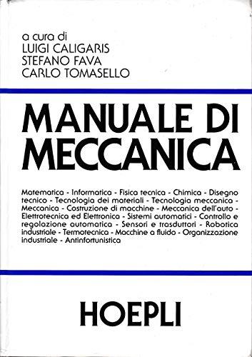 9788820329013: Manuale di meccanica