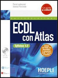 9788820337568: ECDL con Atlas. Con CD-ROM