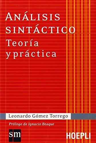 9788820341053: Análisis sintáctico. Teoría y práctica (Grammatiche)
