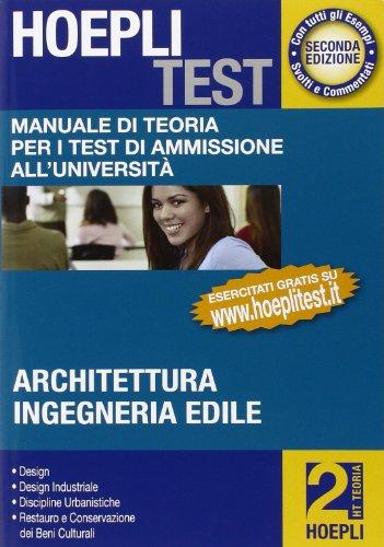 9788820341985: Hoepli test. Manuale di teoria per i test di ammissione all'università: 2