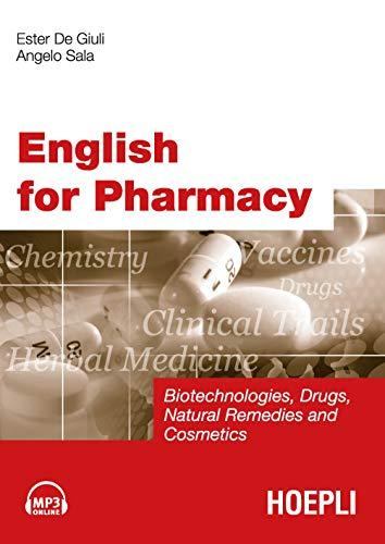 9788820344757: English for Pharmacy. Con CD Audio [Lingua inglese]
