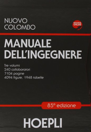 9788820345839: Nuovo Colombo. Manuale dell'ingegnere