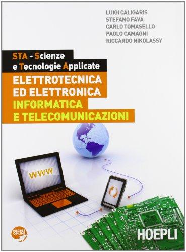 9788820346577: STA. Elettrotecnica ed elettronica-Informatica e telecomunicazioni