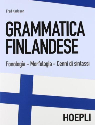 9788820359003: Grammatica finlandese. Fonologia. Morfologia. Cenni di sintassi