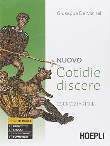 9788820361136: Nuovo cotidie discere. Eserciziario. Con e-book. Con espansione online. Per i Licei
