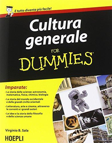 CULTURA GENERALE FOR DUMMIES.(FOR DUMMIES): VIRGINIO B., SALA