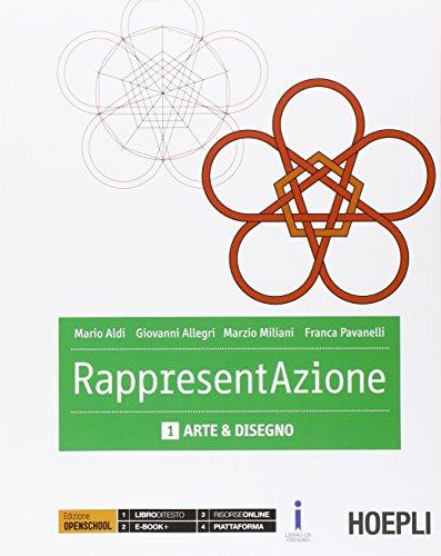 9788820372217: Rappresentazione. Per gli Ist. tecnici per geometri. Arte e disegno (Vol. 1)