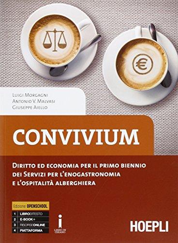9788820372521: Convivium. Diritto ed economia per il primo biennio. Per le Scuole superiori. Con e-book. Con espansione online