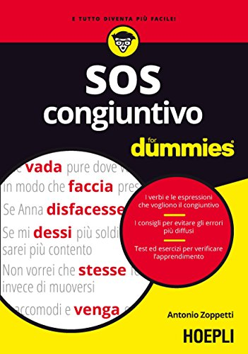 9788820376741: SOS congiuntivo For Dummies