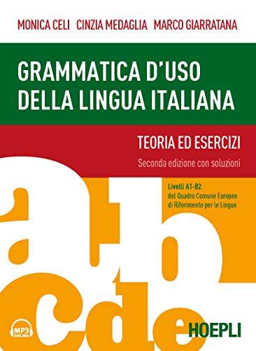 9788820386191: Grammatica d'uso della lingua italiana. Teoria ed esercizi. Livelli A1-B2. Nuova ediz. Con Contenuto digitale per accesso on line