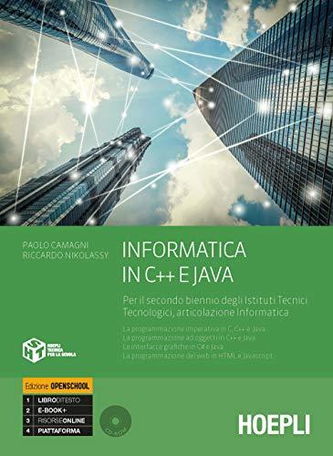 9788820388591: Informatica in C e C++ e Java. Per il secondo biennio degli Ist. tecnici industriali. Con e-book. Con espansione online