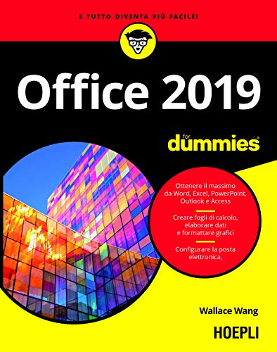 9788820389345: Office 2019 For Dummies. Word, Excel, Power Point, Outlook, Access