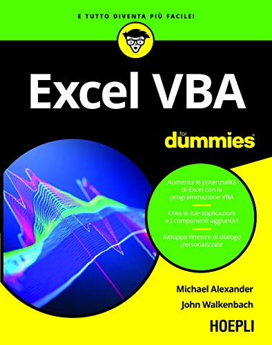 9788820390839: Excel VBA for dummies