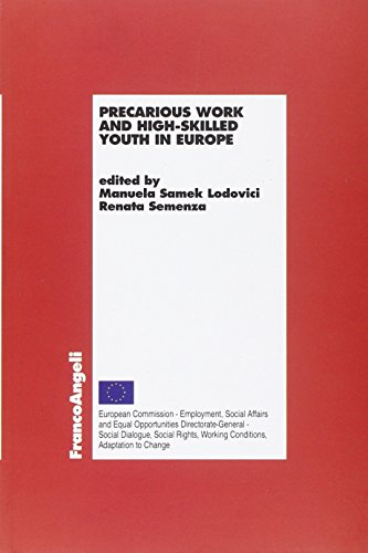 9788820407377: Precarious work and high-skilled youth in Europe