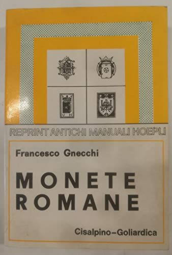 9788820500603: Monete romane (rist. anast. 1935/4)