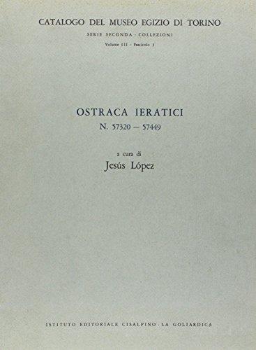 9788820504342: Ostraka ieratici n. 57320-57449 (Museo Egizio di Torino).